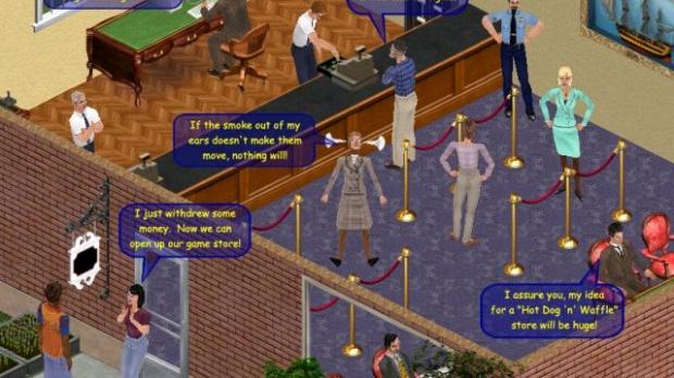 Une date pour les Sims Online