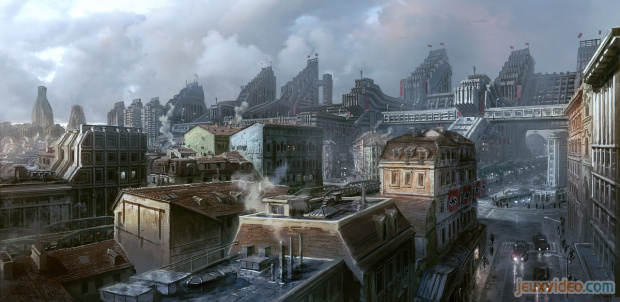 Trois artworks pour Wolfenstein : The New Order