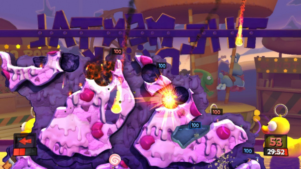 Un pack forain pour Worms Revolution