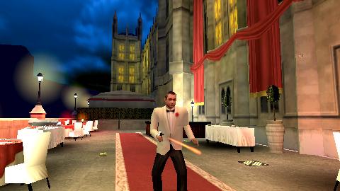 Images : James Bond lève son verre sur PSP