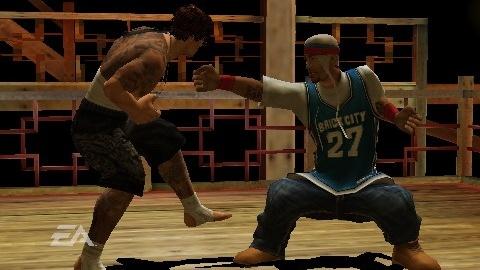 Images : Def Jam se déhanche sur PSP