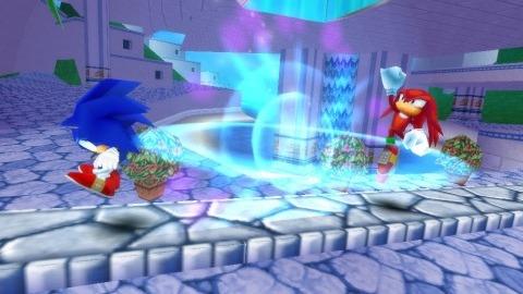 Images : Sonic Rivals 2 sautille