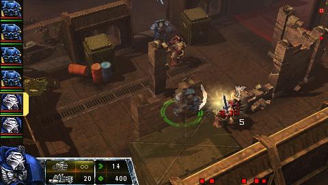 Warhammer 40000 : Squad Command : la démo PSP