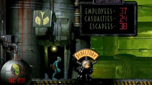 Un reboot pour Oddworld : L'Odyssée d'Abe en 2013