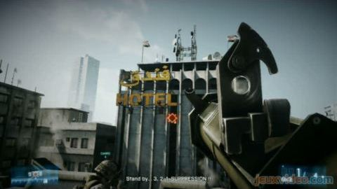 Battlefield 3 : Version PS3 contre 360