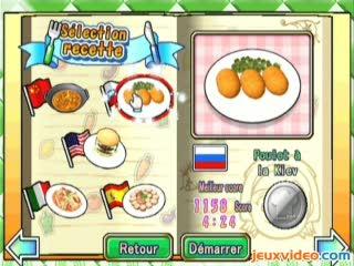 Vid os du jeu cooking mama trailers gameplay - Jeu de cuisine cooking mama ...