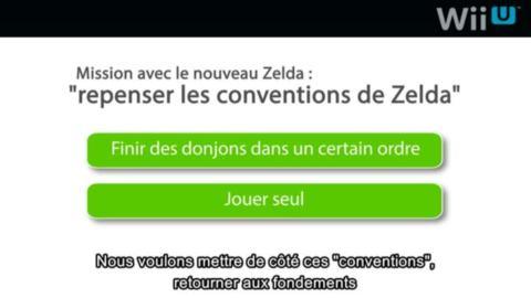 Des détails sur le prochain Zelda Wii U