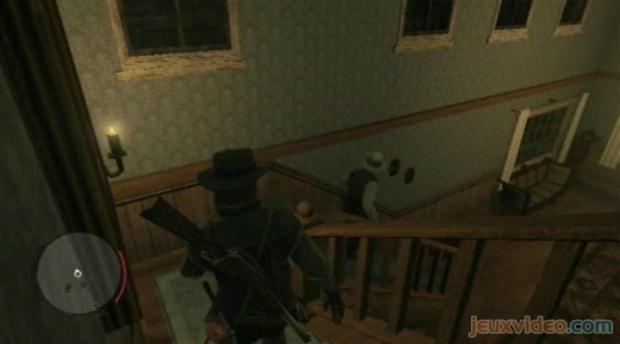 Montez à l étage et sauvez la première femme qui se trouve dans la première  chambre à droite, tenue en otage par le bandit. Allez ensuite vers la  deuxième ... d26d98caff88