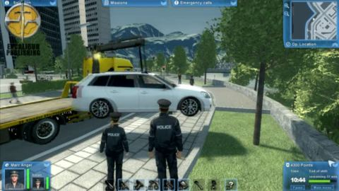 vid os du jeu police force sur pc trailers gameplay. Black Bedroom Furniture Sets. Home Design Ideas