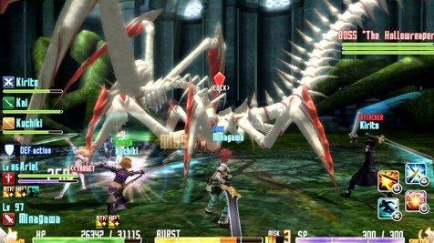 Un DLC gratuit pour Sword Art Online : Hollow Fragment