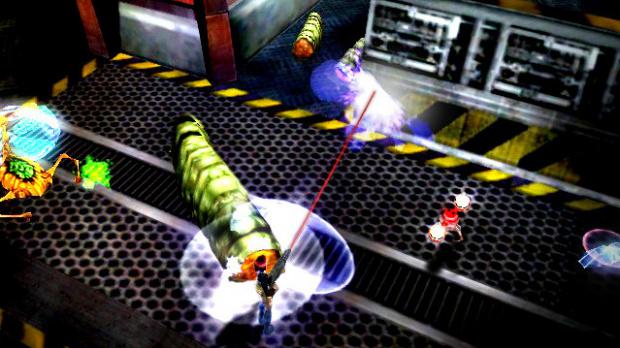 Images : Alien Syndrome sur Wii