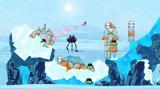 Angry Birds Star Wars débarque sur consoles