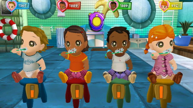 GC 2008 : Ubisoft présente Babysitting Party