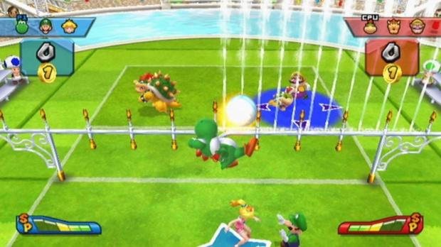 Mario Sports Mix prend du retard