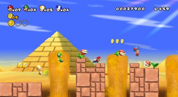 Meilleures ventes de jeux en France : Mario fait le beau
