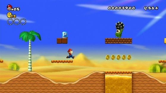 Record pour New Super Mario Bros. Wii au Japon