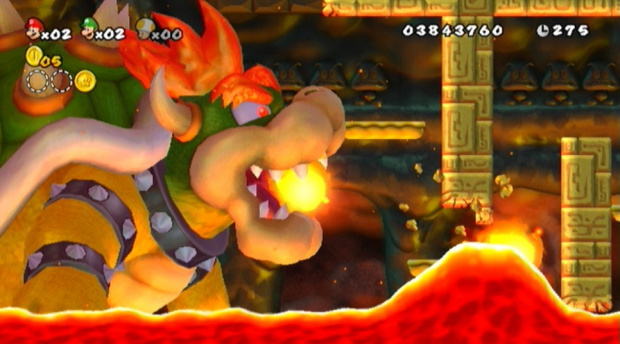 Meilleures ventes de jeux au Japon : Mario bondit