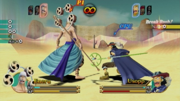 One Piece Unlimited Cruise SP sur 3DS