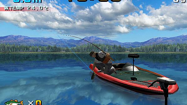 Sega Bass Fishing arrive sur Wii