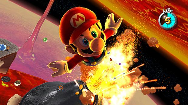 Super Mario Galaxy sabre le Champagne aux USA