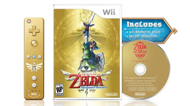 Zelda : Skyward Sword en édition dorée aux US