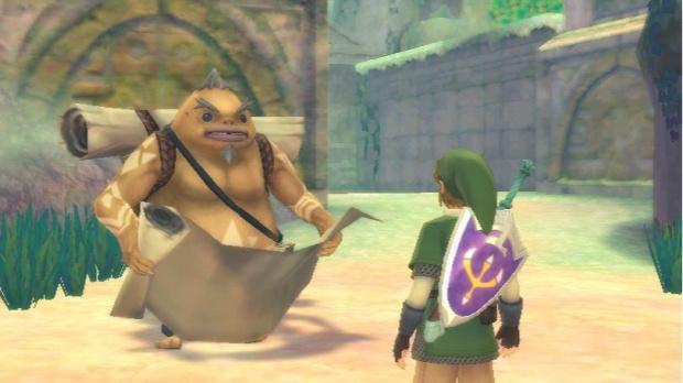 Un sérieux bug dans Zelda : Skyward Sword