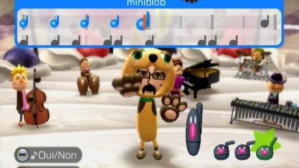 Wii Music à l'école