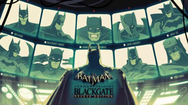 Batman Arkham Origins Blackgate - Deluxe Edition Wii U sortira...