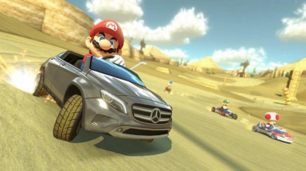 Mario Kart 8 : Le DLC Mercedes bientôt en France