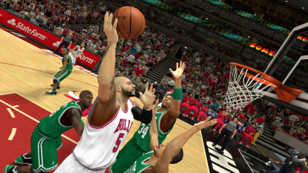 NBA 2K13 se lance sur Wii U en images