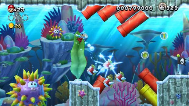 Le DLC confirmé pour New Super Mario Bros. U