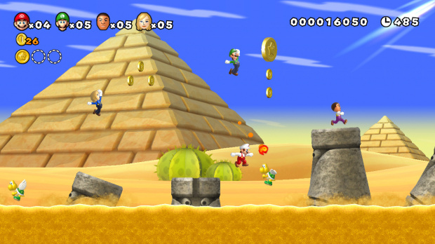 E3 2011 : Images de Mario Wii U