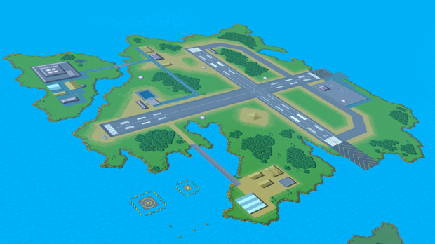 Super Smash Bros. : Un niveau Pilotwings