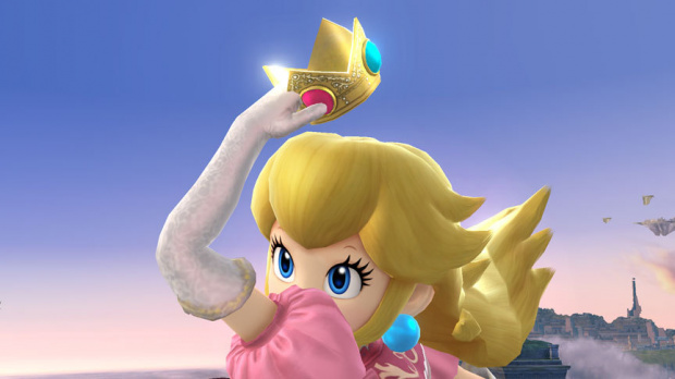 Peach rempile pour Super Smash Bros.