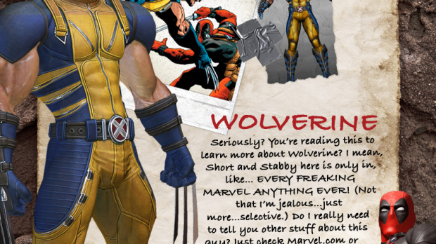 Wolverine présent dans le jeu Deadpool