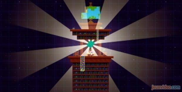 La tour du télescope géant