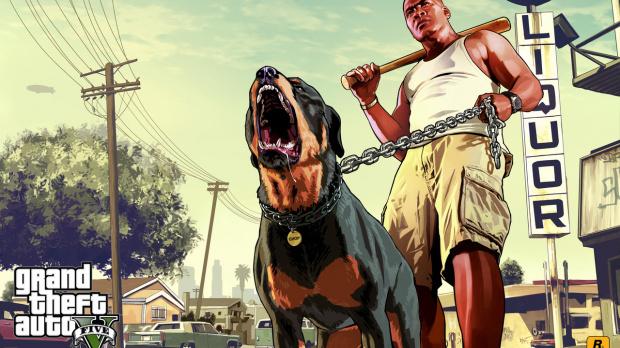 Grand Theft Auto V a du chien