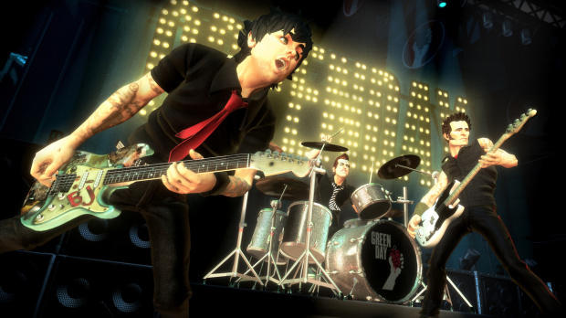 Green Day : Rock Band en démo sur le Live