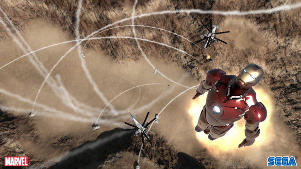 Images : Iron Man en approche