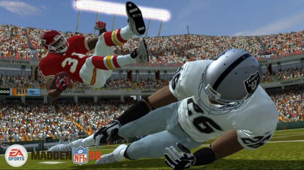 E3 2007 : Madden NFL 08 glisse sur la pelouse