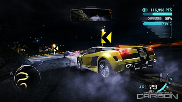 Need For Speed Carbon aux genres musicaux