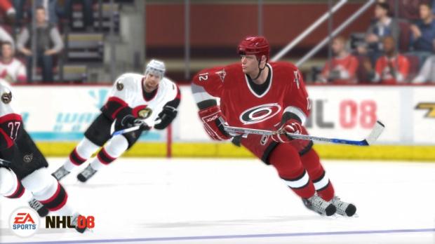 NHL 08 en démo sur le Xbox Live