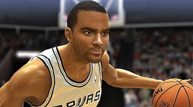 Parker dans NBA Live 06 sur Xbox 360