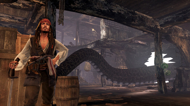 Image : Jack Sparrow fait le beau