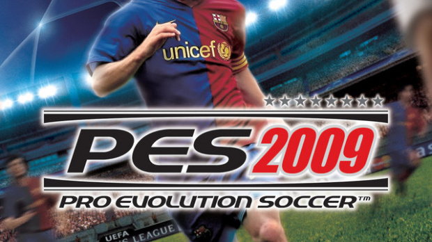 La jaquette de PES 2009