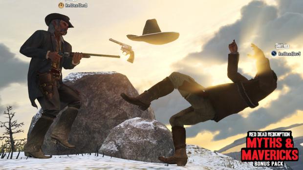 Red Dead Redemption : Le DLC gratuit Mythes et Insoumis est disponible