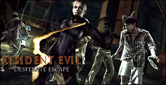 Resident Evil 5 : Une Fuite Désespérée