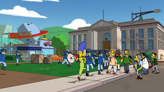 The Simpsons : GTA évacué