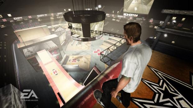 Skate repoussé sur Xbox 360