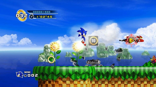 Sonic 4 repoussé